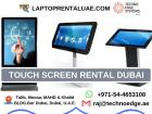 LED Touch Screen Rental Dubai, UAE at Best Offers