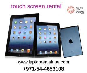 touch screen rental  for  corporate survey in Dubai