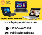 We're proud to offer a huge range of laptop rental in Dubai. Feel  free to contact @ +971-54-4653108 .