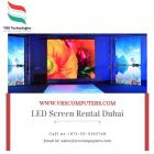 Big Screen Rentals at VRS Technologies in Dubai UAE