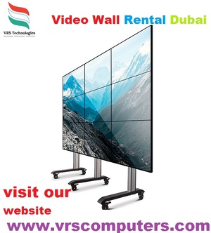 Video Wall Rentals at VRS Technologies in Dubai
