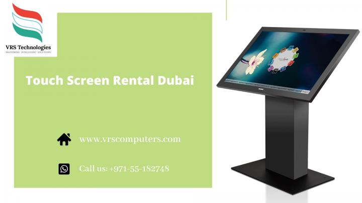 Touch Screen on Rent in Dubai at VRS Technologies