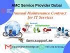 Things that an IT AMC services Dubai covers
