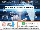 IT Support Services Dubai, UAE | IT Company in Dubai